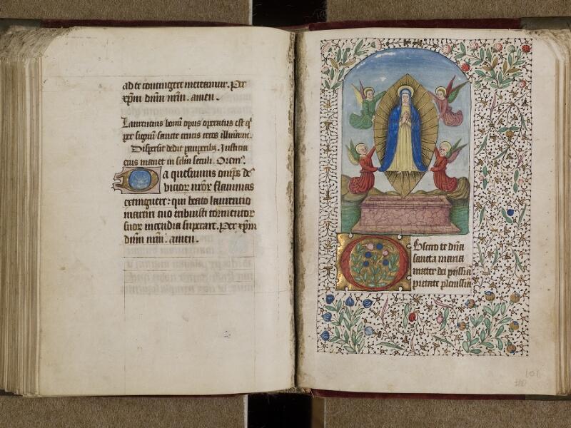 AVRANCHES, Bibliothèque municipale, 0302, f. 100v - 101