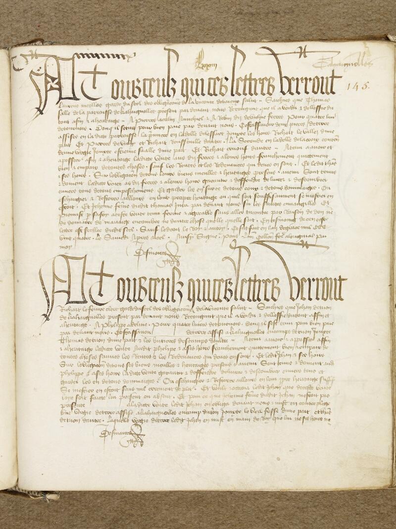 Bayeux, Bibl. mun., ms. 0001, p. 145