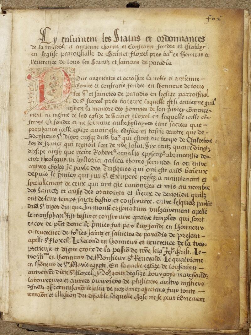 Bayeux, Bibl. mun., ms. 0005, A f. 002