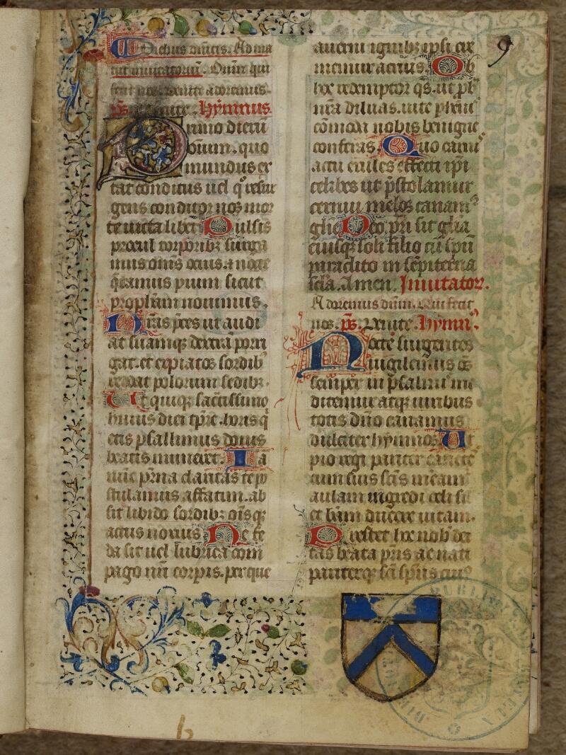 Bayeux, Bibl. mun., ms. 0058, f. 009