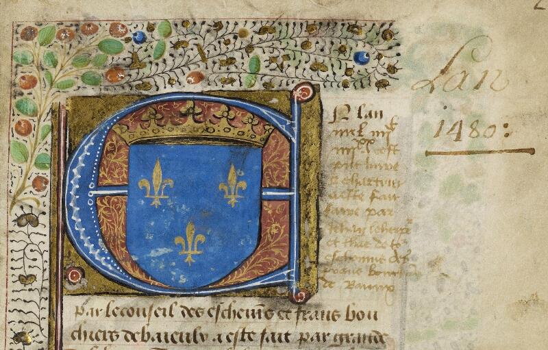 Bayeux, Bibl. mun., ms. 0004, f. 002 - vue 3