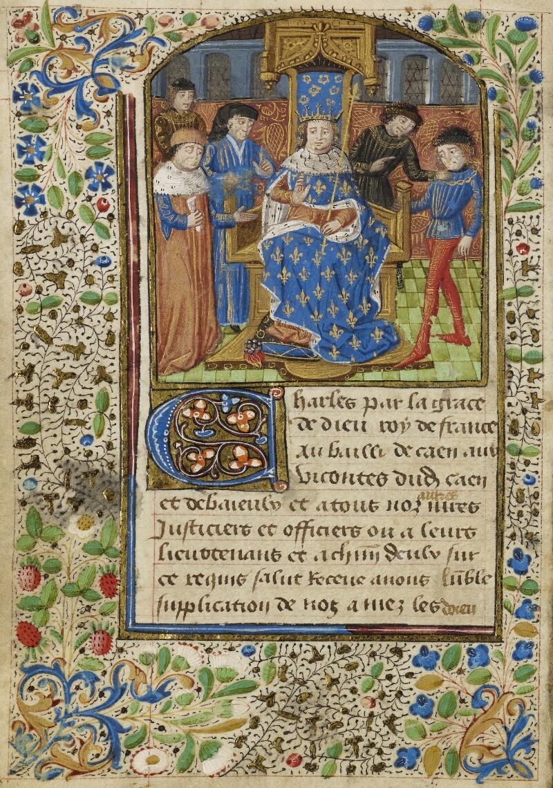 Bayeux, Bibl. mun., ms. 0004, f. 004v - vue 1