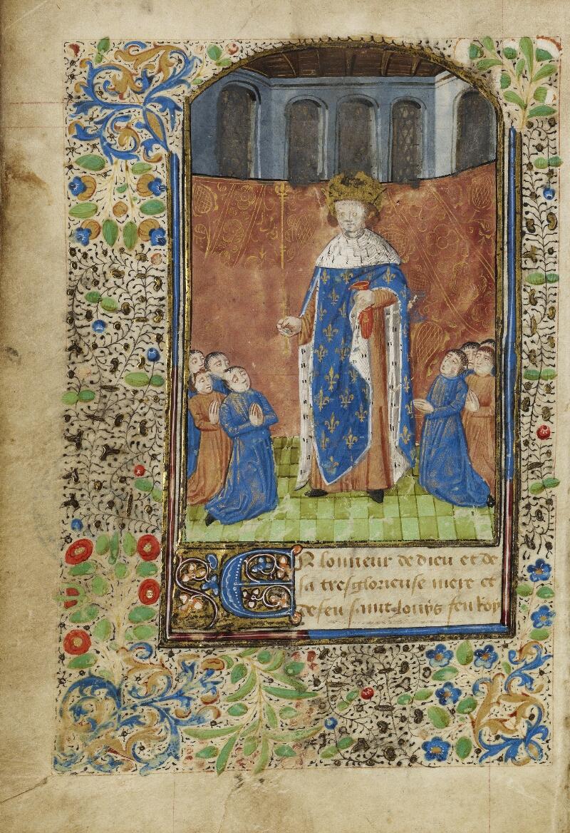 Bayeux, Bibl. mun., ms. 0004, f. 012v - vue 1