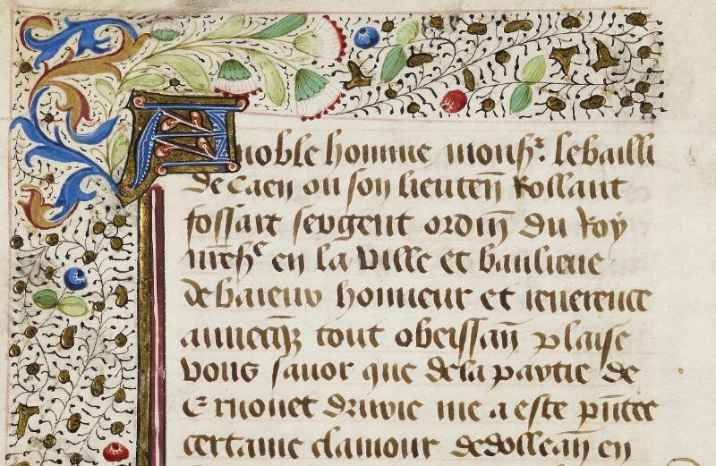 Bayeux, Bibl. mun., ms. 0004, f. 032v - vue 2
