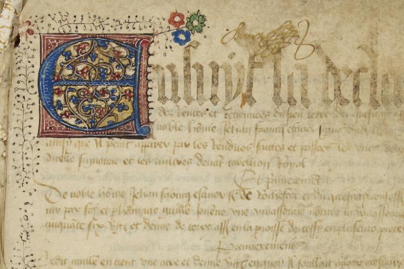 Bayeux, Bibl. mun., ms. 0007, f. 001 - vue 3