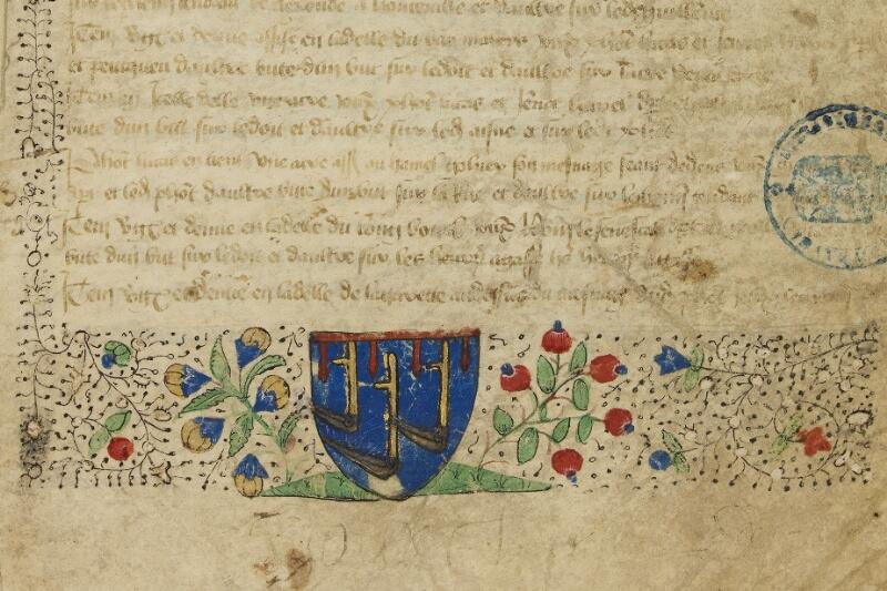 Bayeux, Bibl. mun., ms. 0007, f. 001 - vue 4