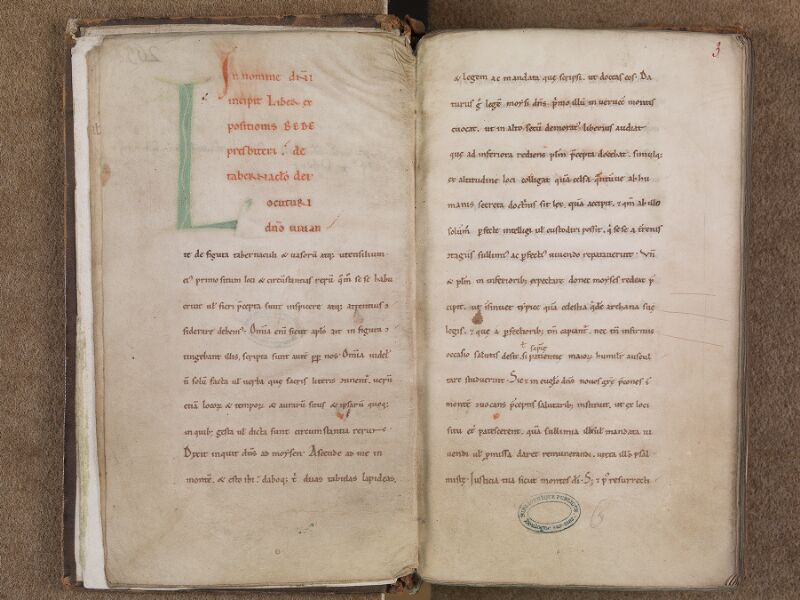 BOULOGNE-SUR-MER, Bibliothèque municipale, 0018, f. 002v - 003r