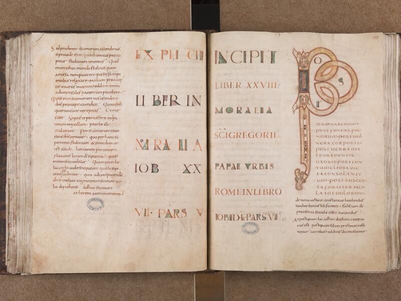BOULOGNE-SUR-MER, Bibliothèque municipale, 0071, t. I, f. 110v - 111r