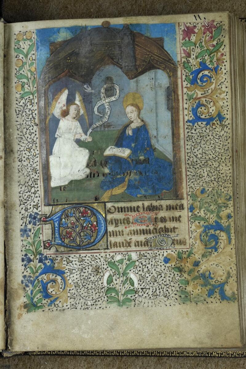 Brest, Bibl. mun, ms. 0001, f. 011 - vue 1