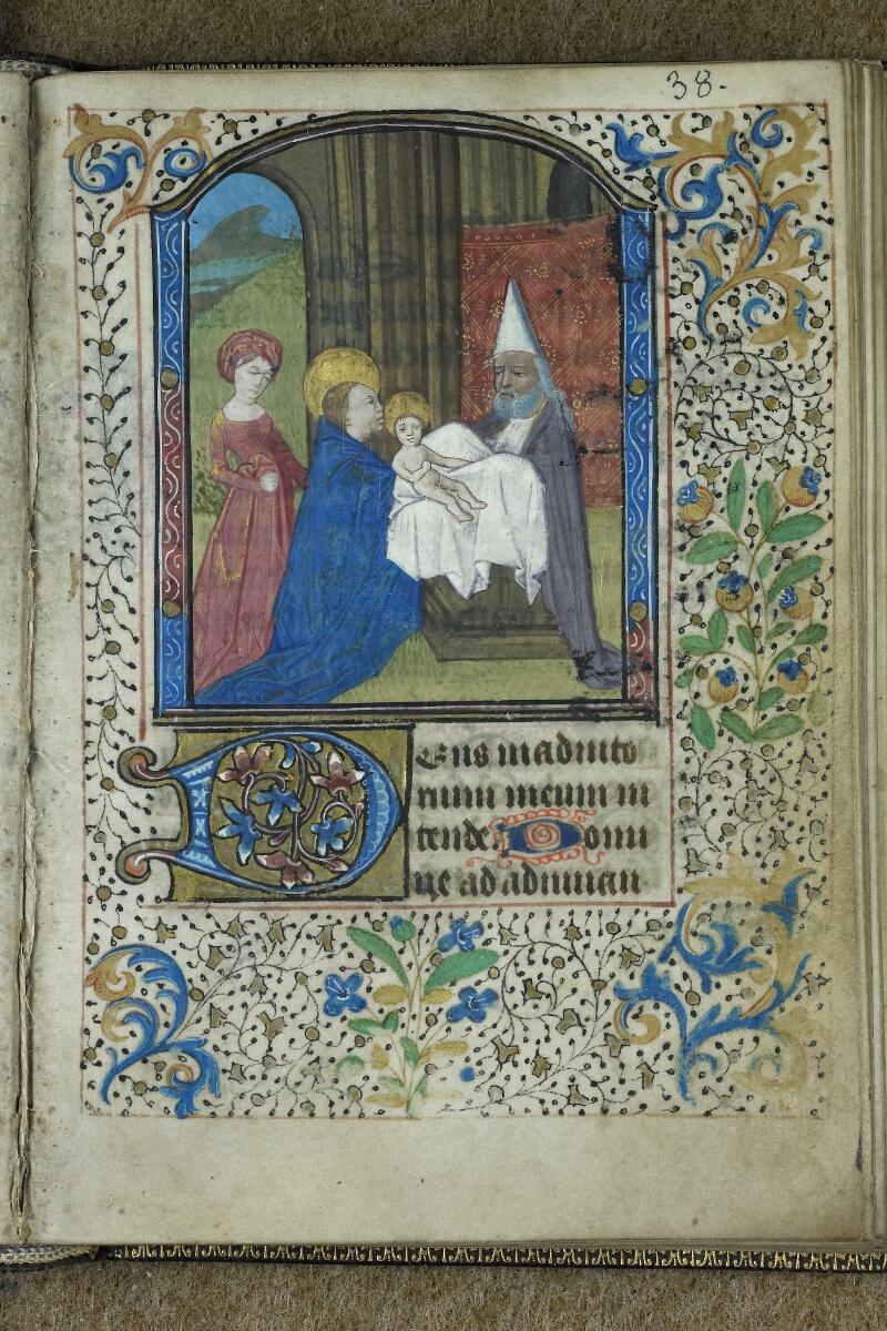 Brest, Bibl. mun, ms. 0001, f. 038 - vue 1