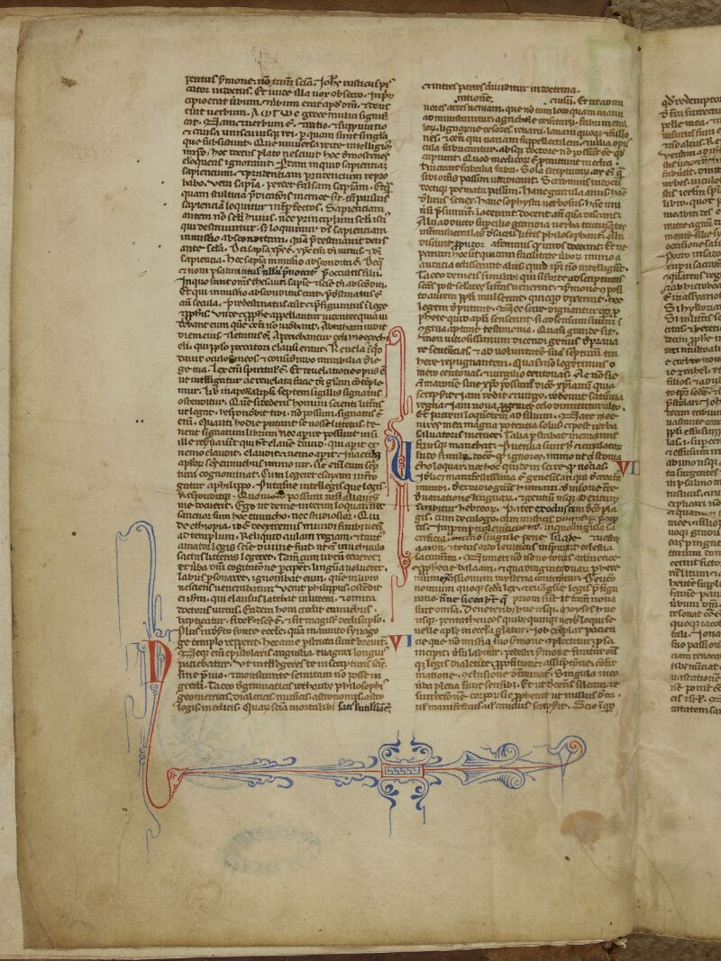 Caen, Bibl. mun., ms. 0002, f. 001v - vue 1