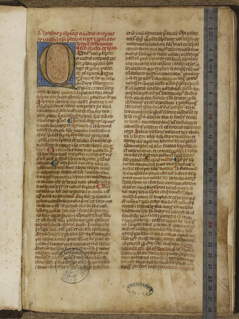 Caen, Bibl. mun., ms. 0003, f. 001 - vue 1