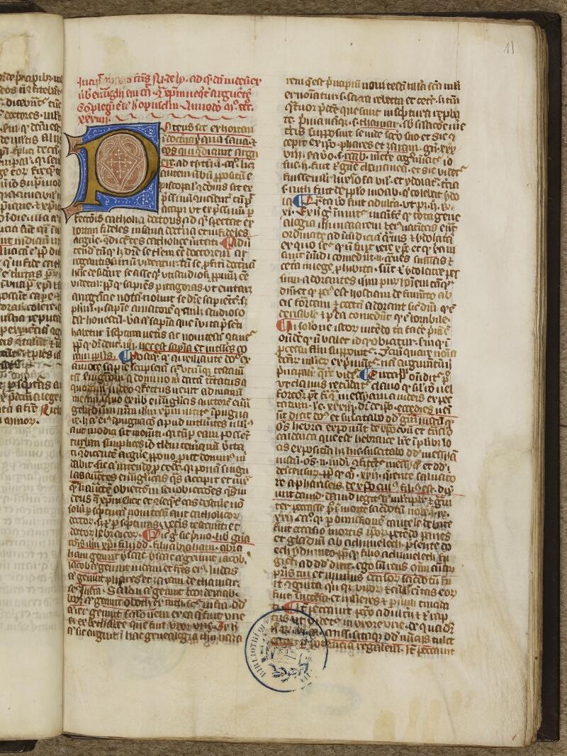 Caen, Bibl. mun., ms. 0003, f. 011