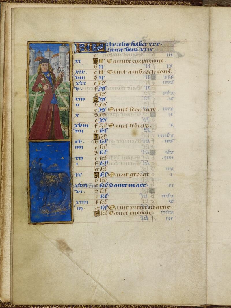 Caen, Bibl. mun., ms. 0012, f. 002v