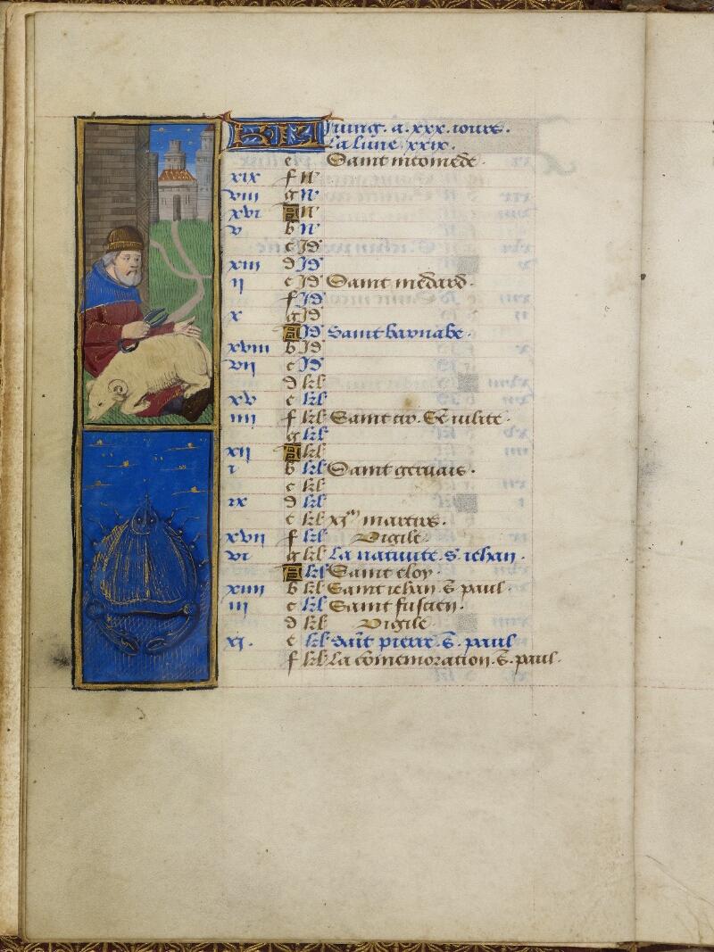 Caen, Bibl. mun., ms. 0012, f. 003v