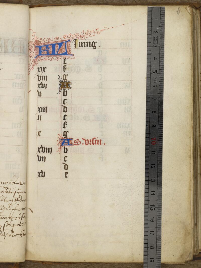 Caen, Bibl. mun., ms. 0013, f. 006 - vue 1