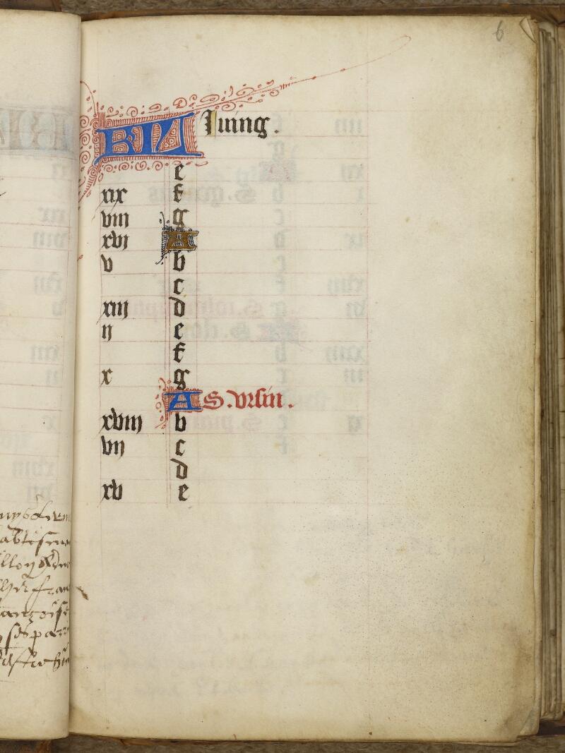 Caen, Bibl. mun., ms. 0013, f. 006 - vue 2