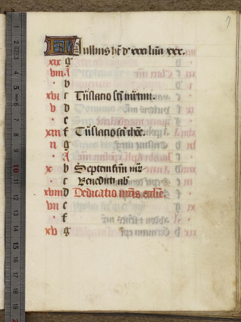 Caen, Bibl. mun., ms. 0017, f. 007 - vue 1