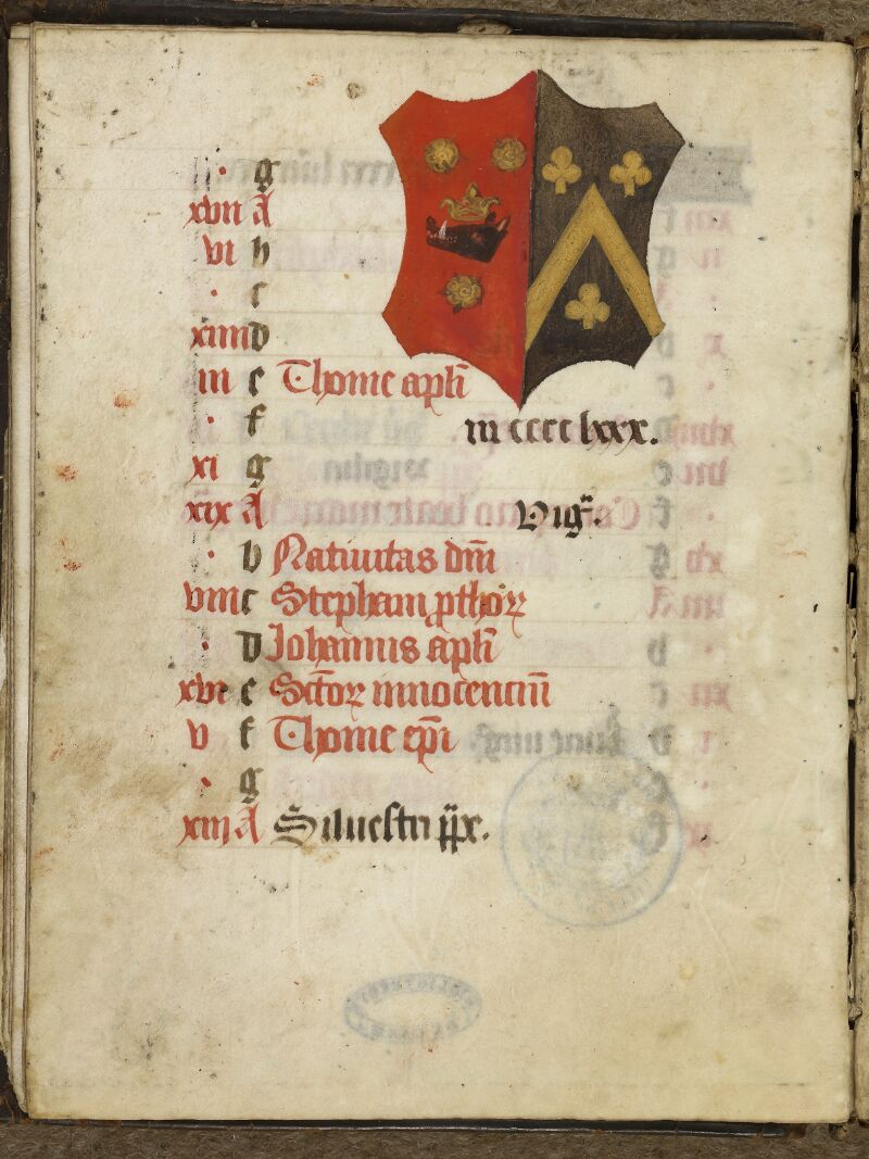 Caen, Bibl. mun., ms. 0017, f. 012v