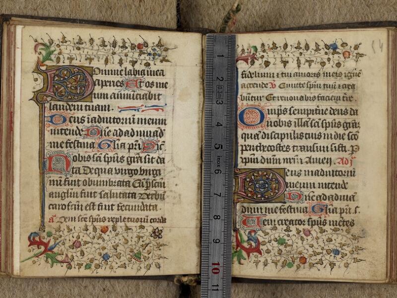 Caen, Bibl. mun., ms. 0019, f. 053v-054 - vue 1