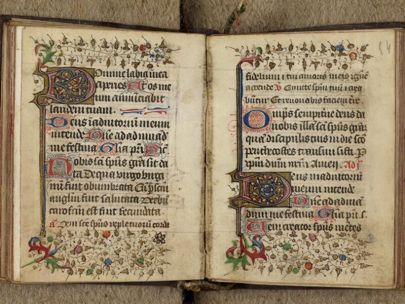 Caen, Bibl. mun., ms. 0019, f. 053v-054 - vue 2