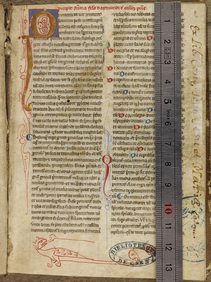Caen, Bibl. mun., ms. 0035, f. 001- vue 1