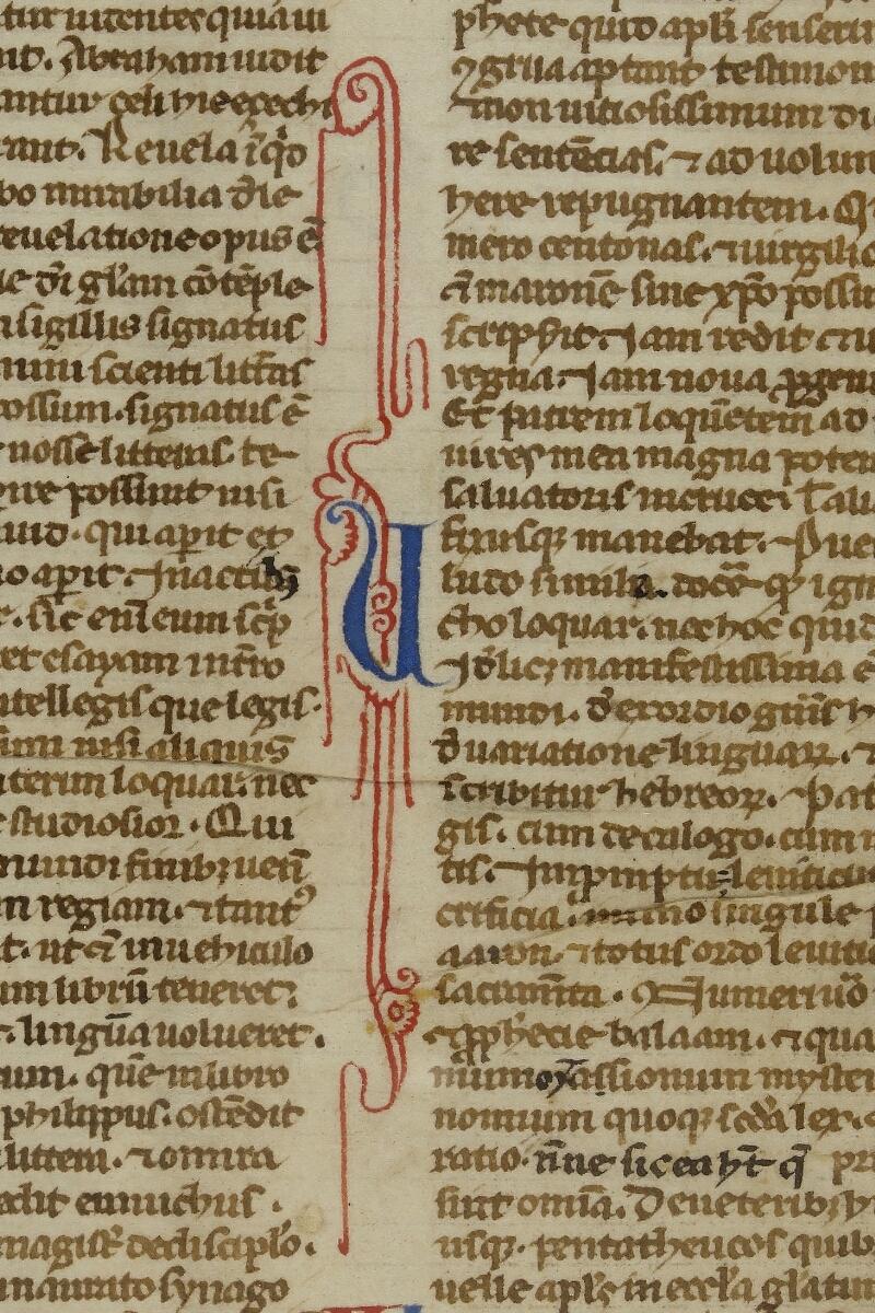 Caen, Bibl. mun., ms. 0002, f. 001v - vue 3
