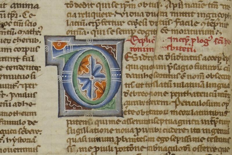 Caen, Bibl. mun., ms. 0002, f. 002v - vue 2
