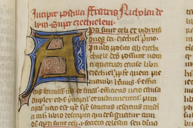 Caen, Bibl. mun., ms. 0003, f. 022 - vue 2