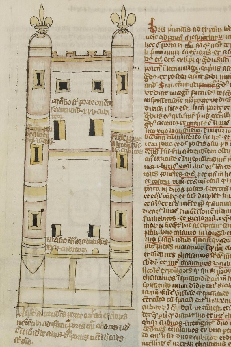 Caen, Bibl. mun., ms. 0003, f. 057v - vue 2