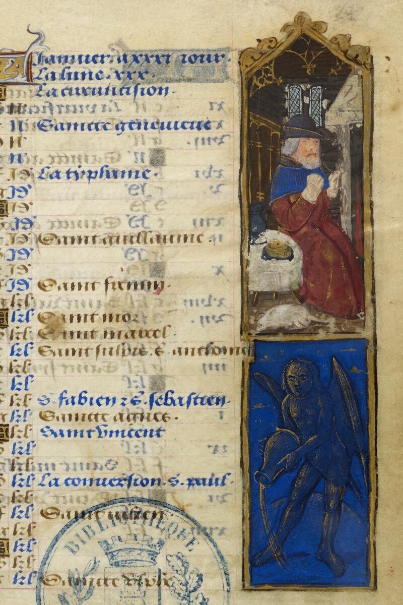 Caen, Bibl. mun., ms. 0012, f. 001 - vue 3