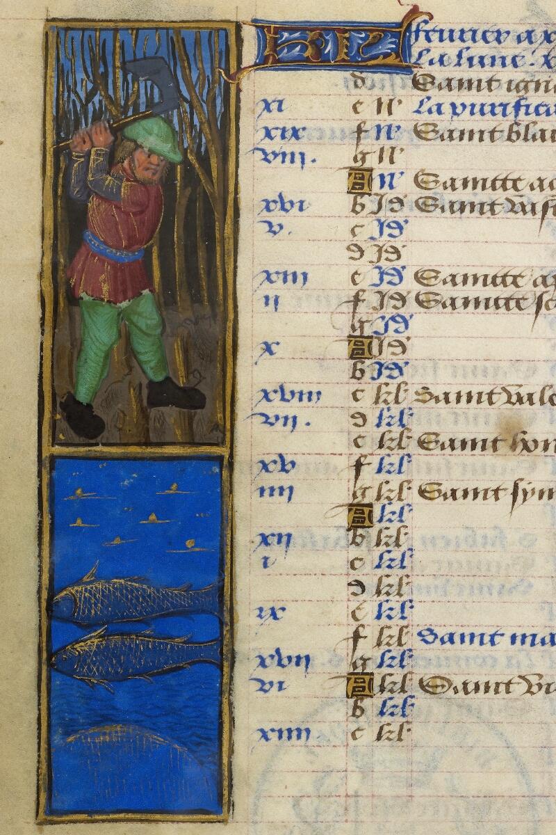 Caen, Bibl. mun., ms. 0012, f. 001v - vue 2