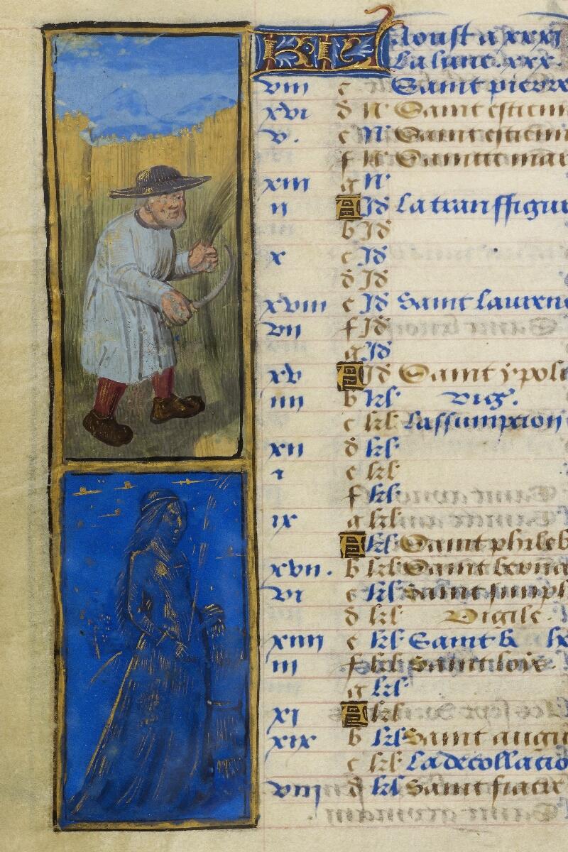 Caen, Bibl. mun., ms. 0012, f. 004v - vue 2