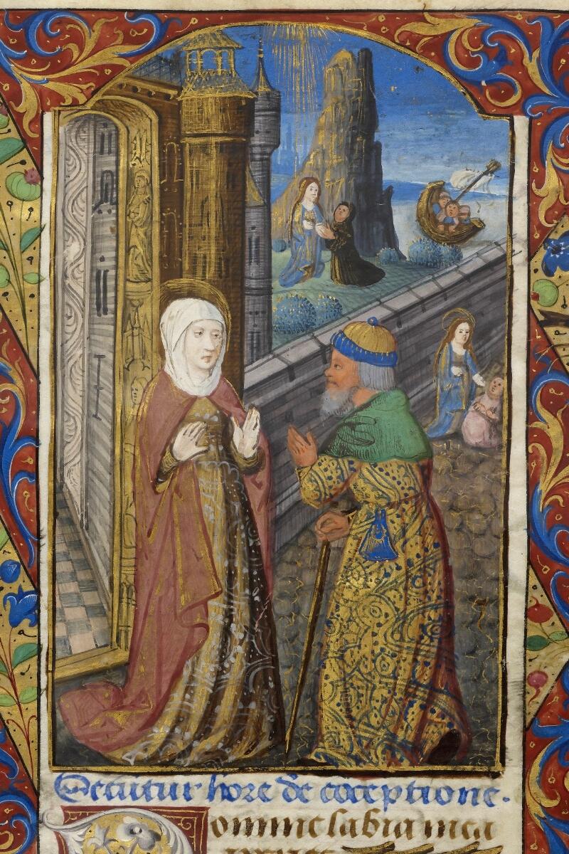 Caen, Bibl. mun., ms. 0012, f. 007 - vue 2