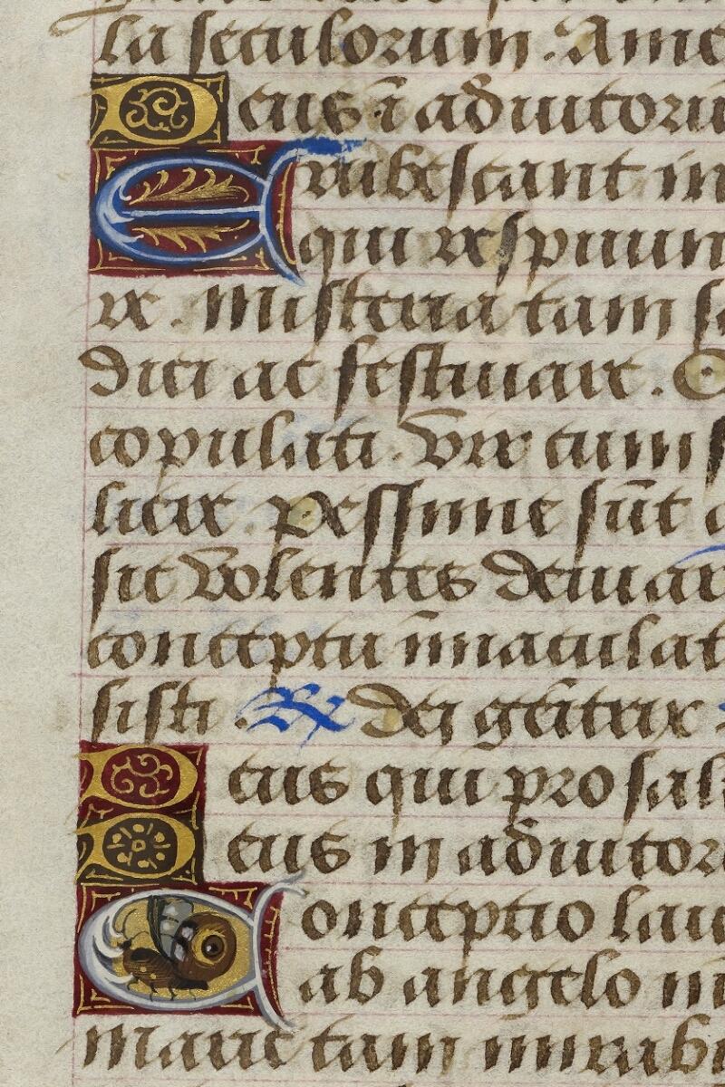 Caen, Bibl. mun., ms. 0012, f. 008 - vue 2