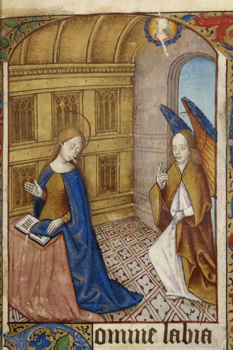 Caen, Bibl. mun., ms. 0013, f. 020 - vue 2