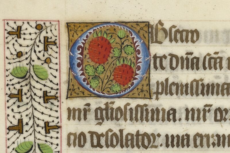 Caen, Bibl. mun., ms. 0017, f. 060v - vue 2