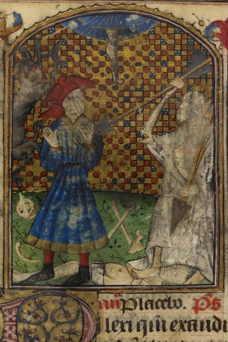 Caen, Bibl. mun., ms. 0019, f. 113v - vue 2
