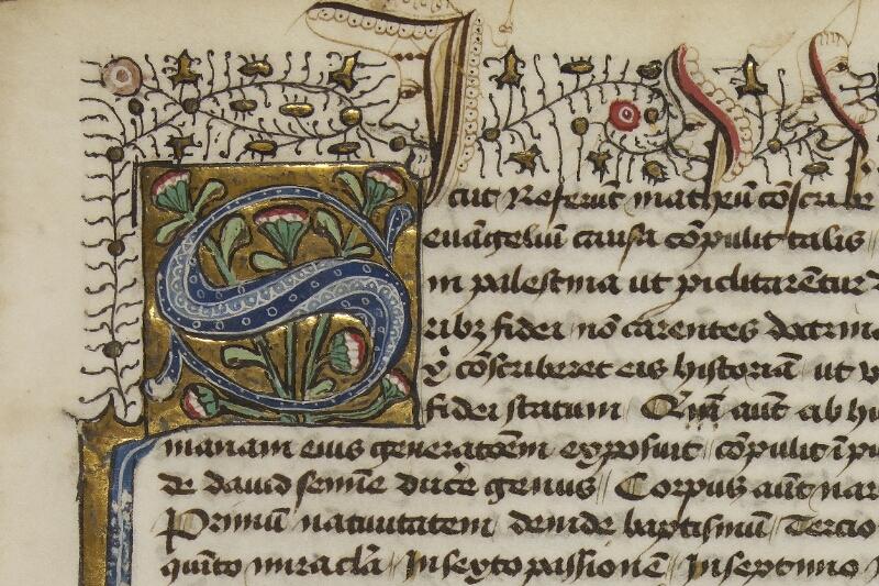 Caen, Bibl. mun., ms. 0025, f. 001- vue 3