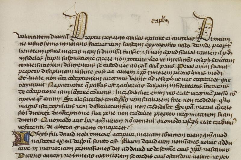 Caen, Bibl. mun., ms. 0025, f. 014 - vue 2