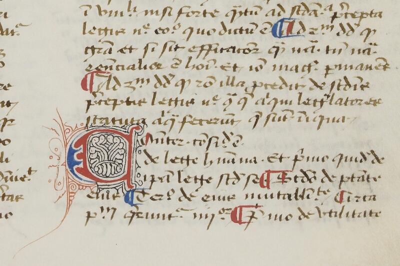 Caen, Bibl. mun., ms. 0029, f. 167 - vue 2
