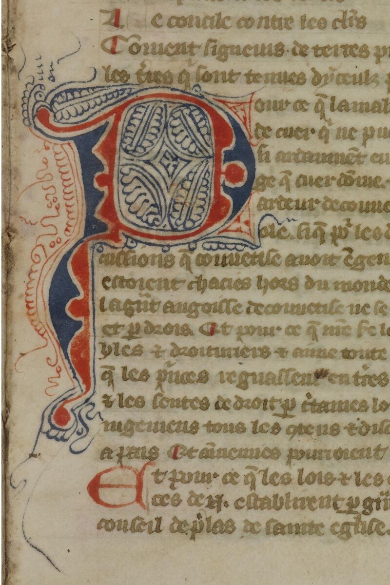 Caen, Bibl. mun., ms. 0055, f. 006 - vue 2