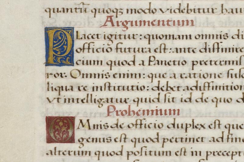 Caen, Bibl. mun., ms. 0181, f. 002v - vue 2