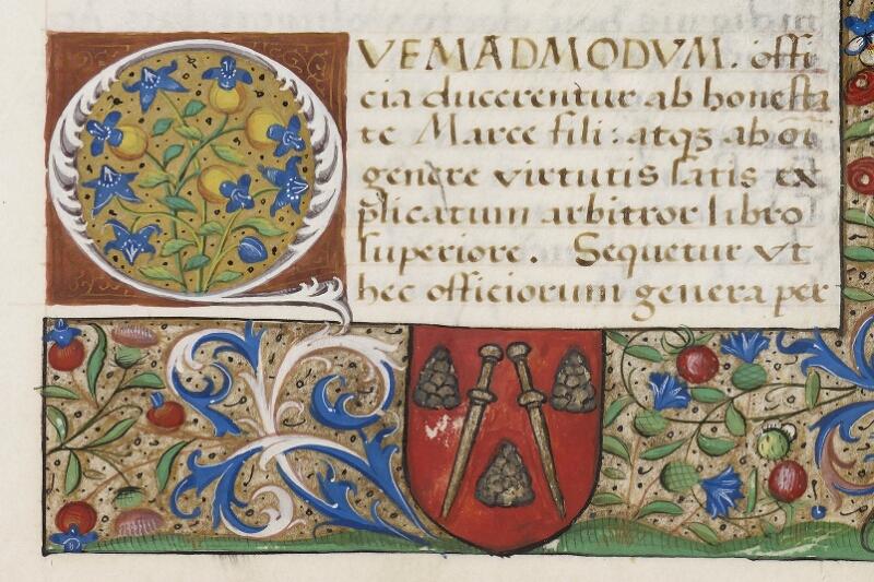 Caen, Bibl. mun., ms. 0181, f. 038 - vue 2