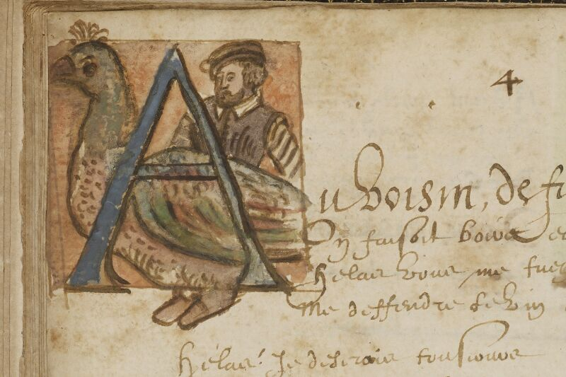 Caen, Bibl. mun., ms. 0207, f. 010v - vue 2