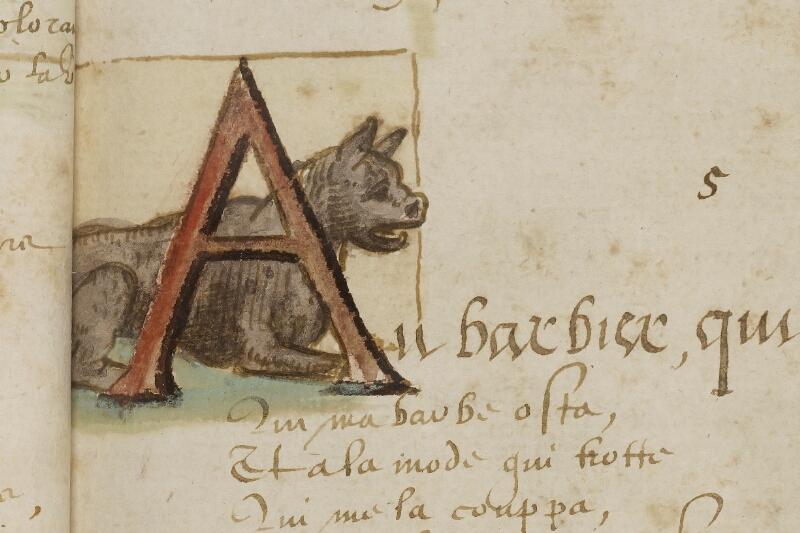 Caen, Bibl. mun., ms. 0207, f. 011 - vue 2