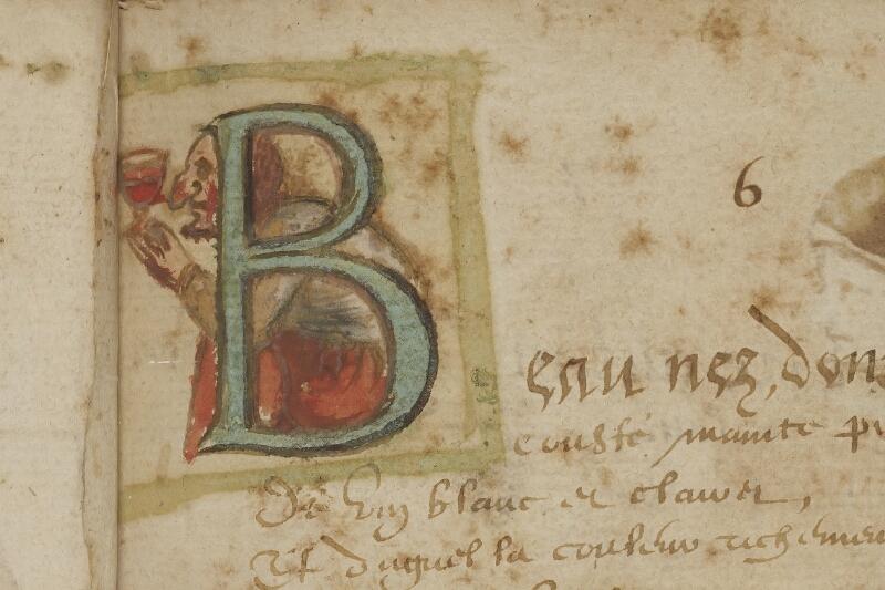 Caen, Bibl. mun., ms. 0207, f. 012 - vue 2