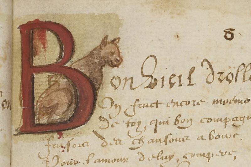Caen, Bibl. mun., ms. 0207, f. 013 - vue 2