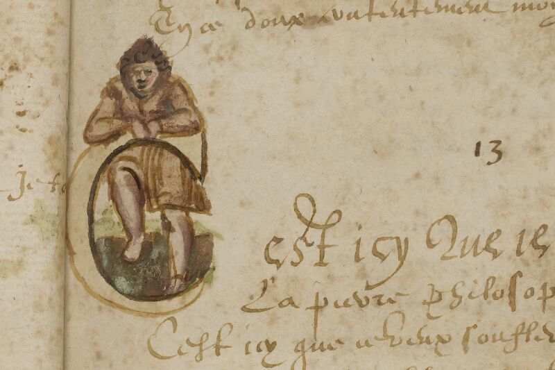 Caen, Bibl. mun., ms. 0207, f. 017 - vue 2