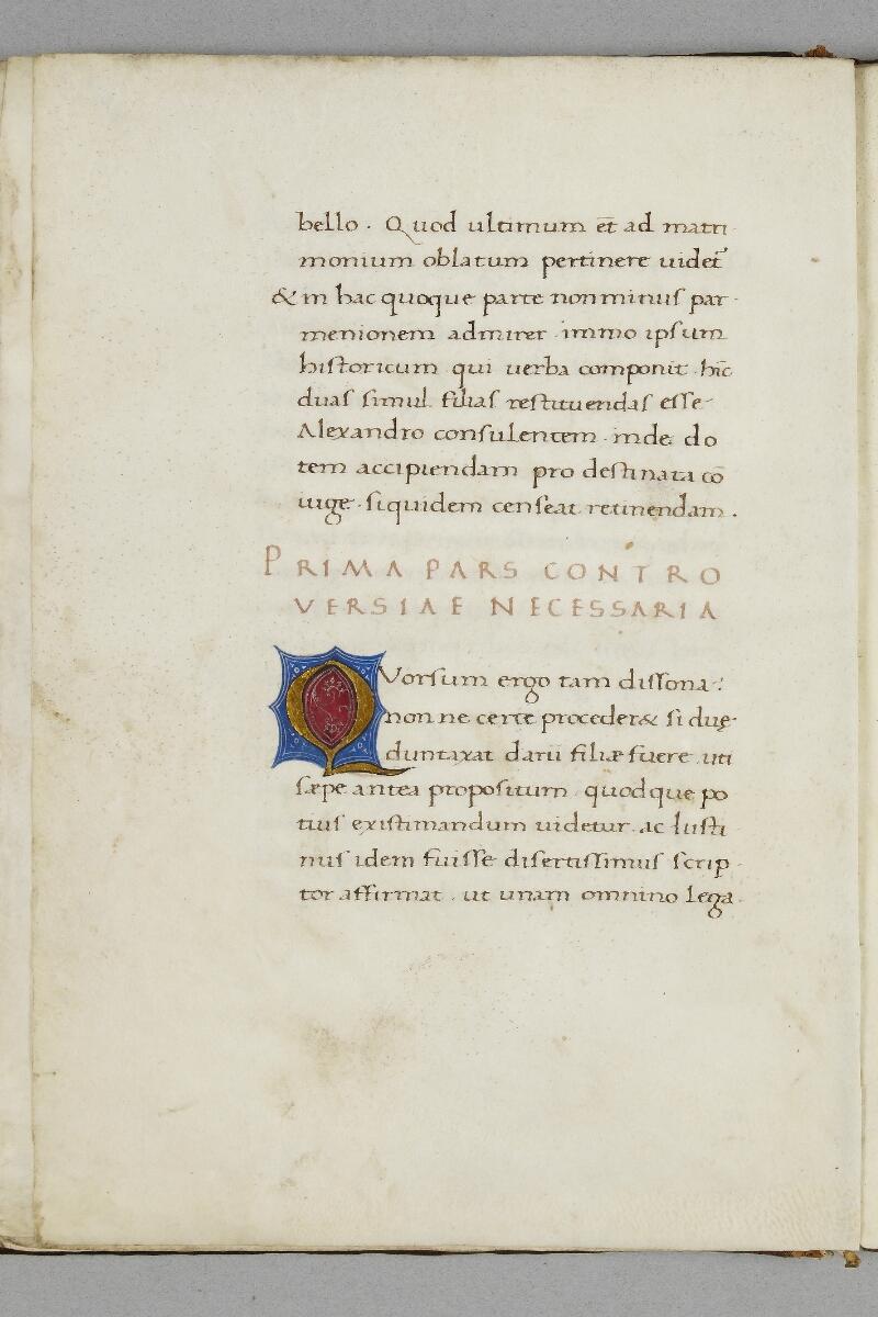 Caen, Bibl. mun., ms. 0343, f. 008v - vue 1
